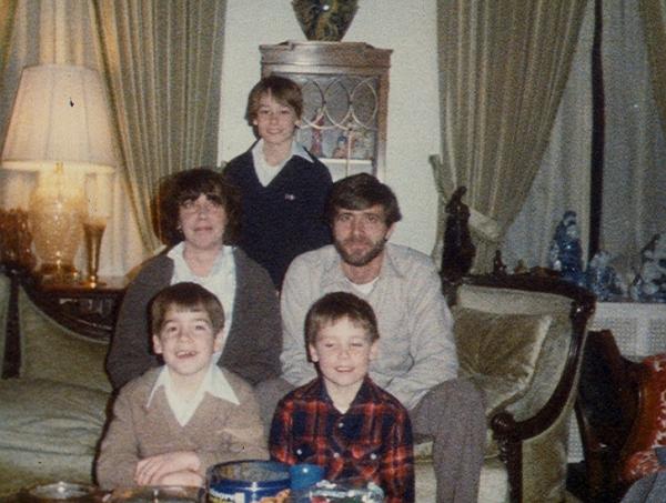 The Hall Family circa 1983.