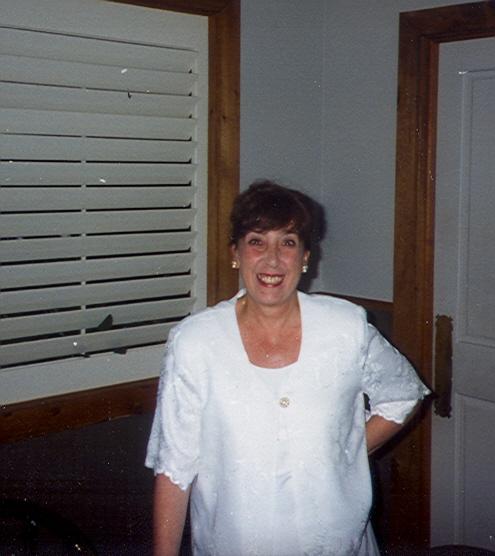 Aunt Georgie. Circa 1994