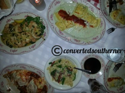 Family Style at Maggiano's
