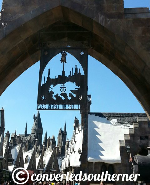 Entering Harry Potter World