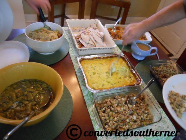 Some of the food... there was a whole other table!