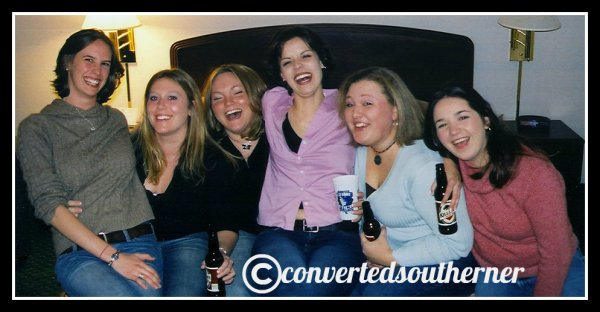 December 31, 2003. Senior Year of college... still one of my most fave new years ever.