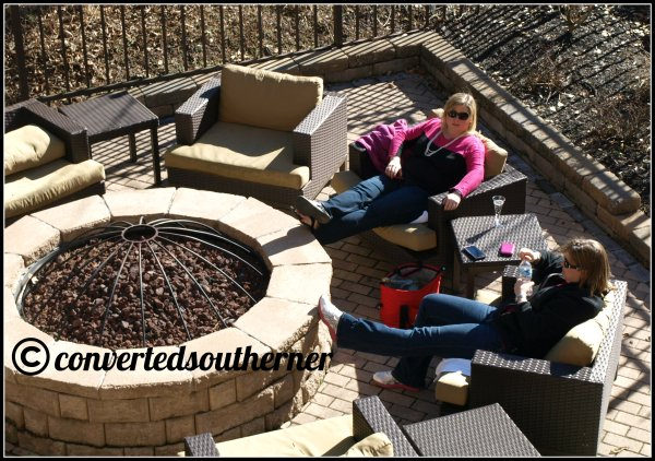 Marriott Courtyard Asheville Firepit