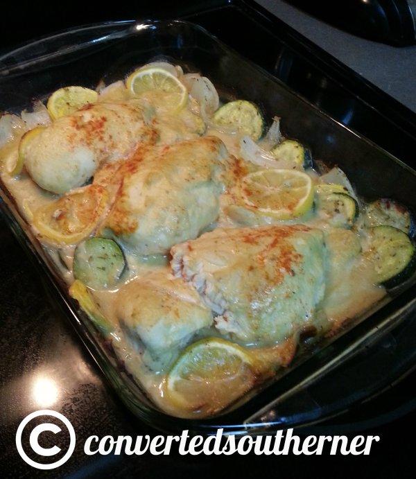 Hummus Crusted Chicken!!
