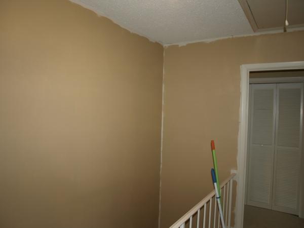 hallway new paint