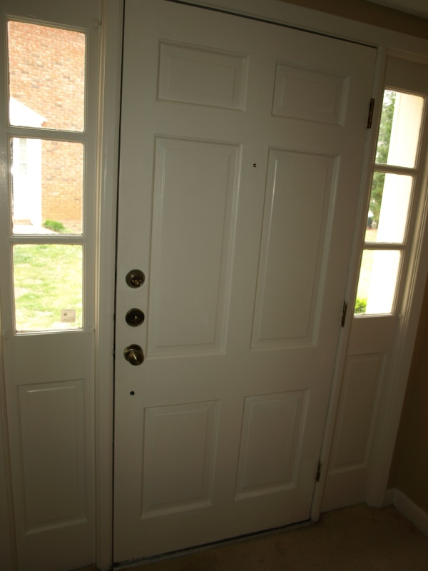 door in entry