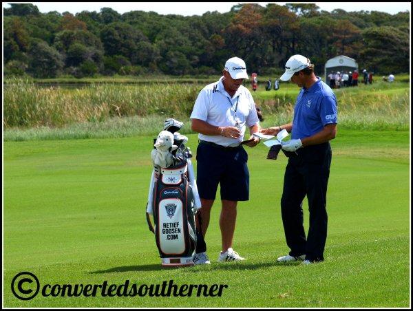 Retief Goosen. The Ocean Course, 2012 PGA Championship