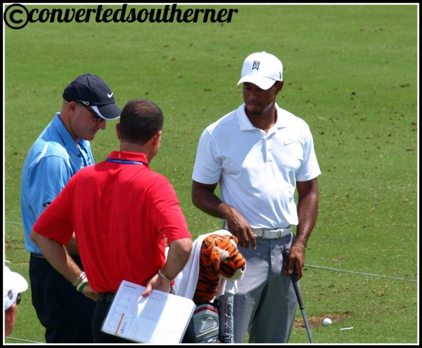 Tiger Woods. The Ocean Course, 2012 PGA Championship
