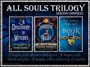 via http://vilmasbookblog.com/tag/all-souls-trilogy/