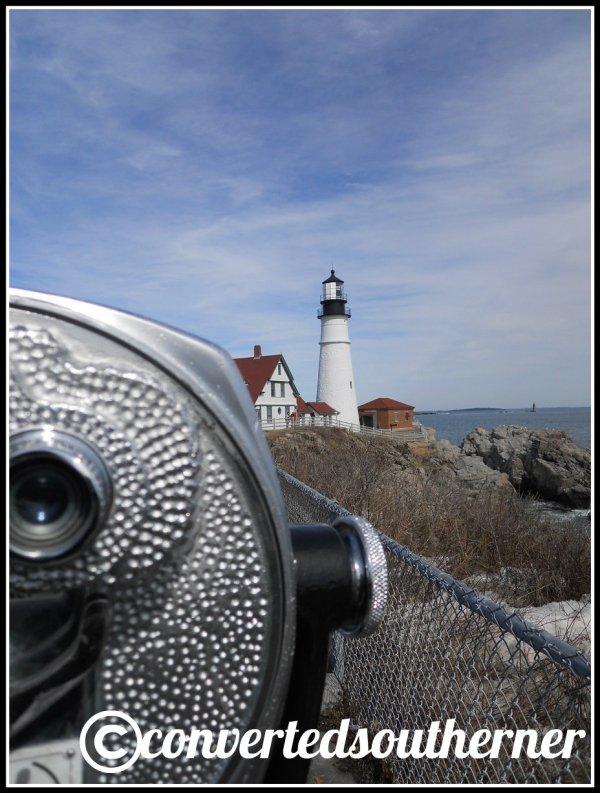 Portland Head Light House. Cape Elizabeth, Maine.