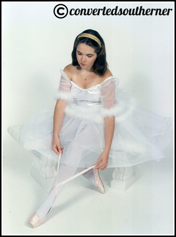 Throwback Thursday to that year I danced in Swan Lake. I look like a giant cotton ball.