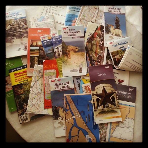 Because every car needs 24 road maps
