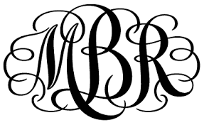 monogram image. submitted by guest blogger.
