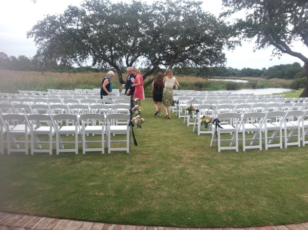 ceremony set up