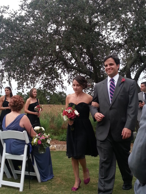 My cousin Ehirch and a friend of the bride