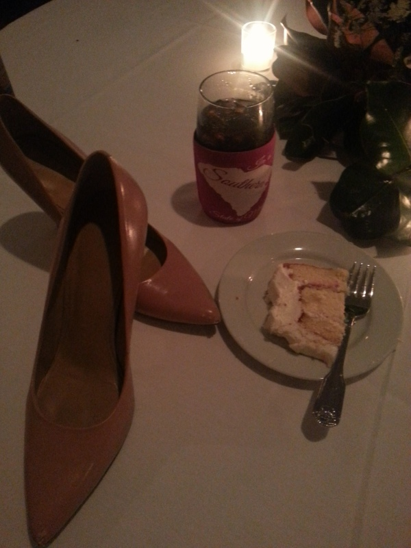Cake and shoes.... my typical wedding pic