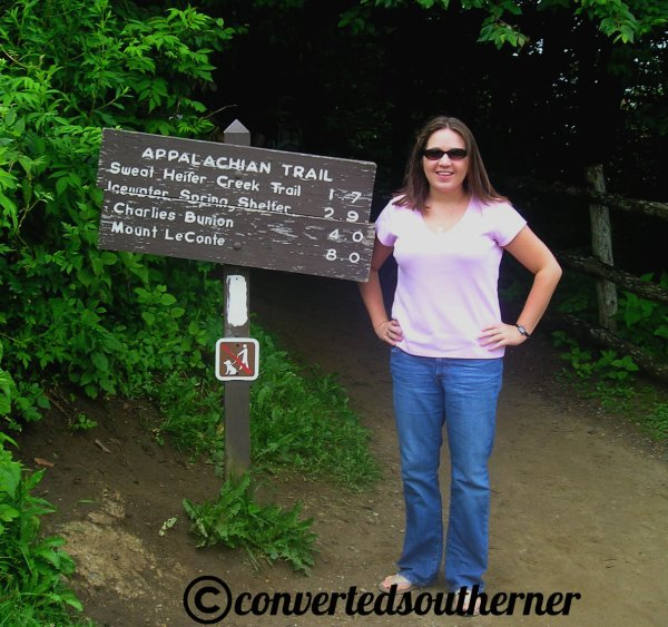 On the Appalachian Trail, summer 2007