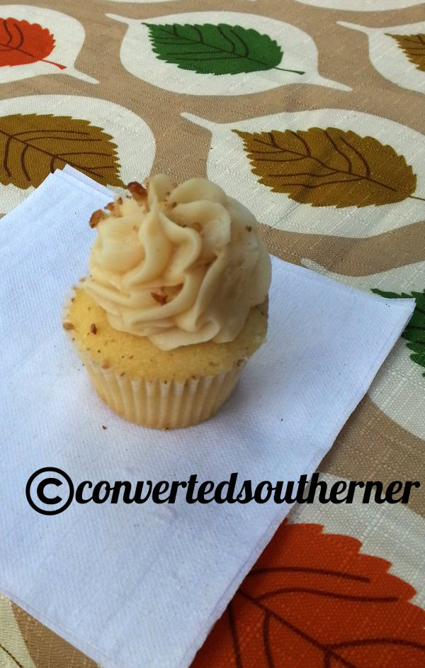 Butter Pecan Mini Cupcakes
