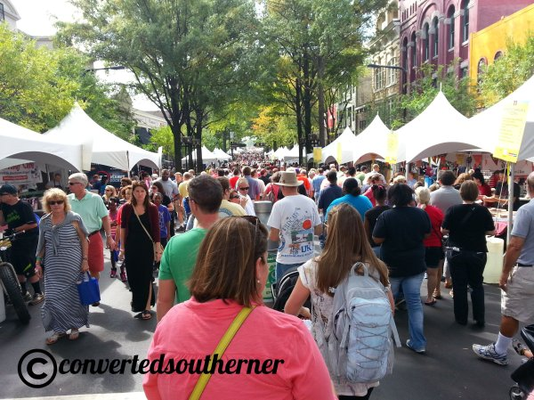 As always, Fall for Greenville was packed!