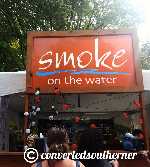 "Smoke on the Water ( I immediately have to finish that with ""Fire in the Sky... great song)"