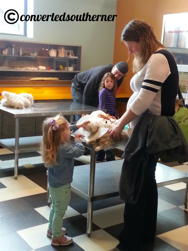 Gail and Bimmer came down in January for a fun girls day! We went to the Children's Museum and then had lunch with Biner, Rach and Baby Ford!
