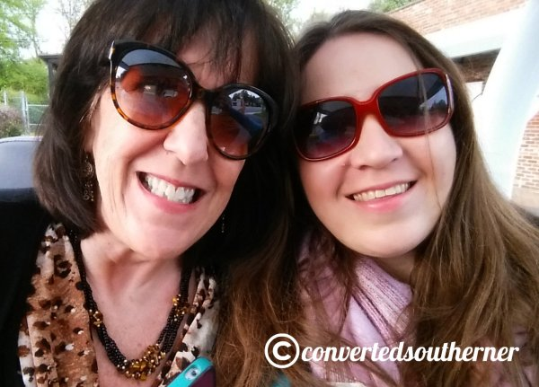 Hanging with my awesome Aunt Wen when she came to town for Easter!